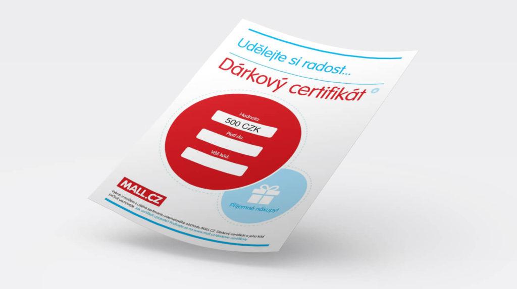 MALL.CZ dárkový certifikát